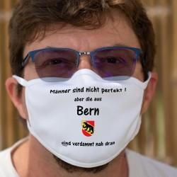 Männer sind nicht perfekt aber die aus Bern sind verdammt nah dran ★ Berner Wappen ★ Schutzmaske aus Stoff