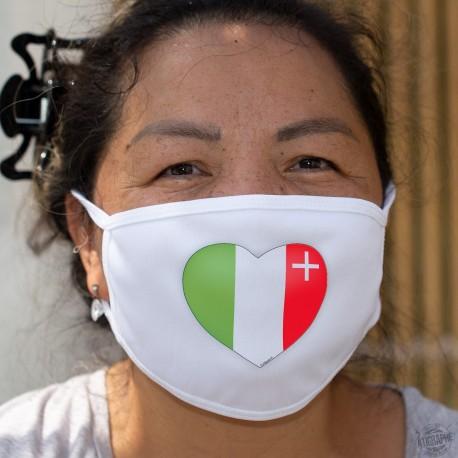 Neuchâtel Heart ★ Cotton mask