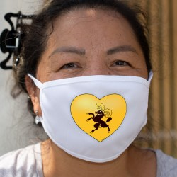 Schaffhausen Heart ★ Cotton mask