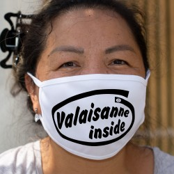 Valaisanne inside ★ Valaisanne à l'intérieur ★ Cotton mask