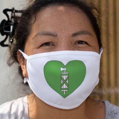 St. Gallen Heart ★ Cotton mask
