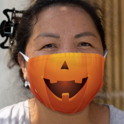 Halloween pumpkin ★ Double-layer tissu mask