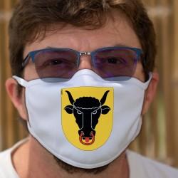 Stemma di canton di Uri ★ Maschera protettiva in tessuto