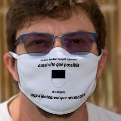 Un dzodzet remplit son VERRE aussi vite que possible ✚ Cotton mask