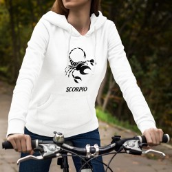 Scorpio astrological sign ♏ Lady Hoodie