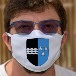 Écusson du canton d'Argovie ★ Masque en tissu double couche lavable