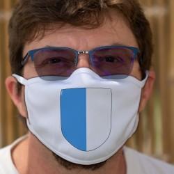 Écusson du canton de Lucerne ★ Masque en tissu double couche lavable