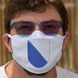 Zürcher Wappenschild ★ Schutzmaske aus Stoff