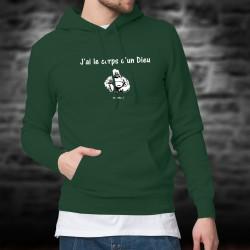 Cotton Hoodie T-Shirt - J'ai le corps d'un Dieu ★ Bouddha ★