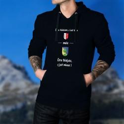 Cotton Hoodie T-Shirt - Valaisan, bien mais Bédjuis, c'est mieux ! ★
