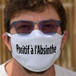 Positif à l'Absinthe ★ Baumwollmaske