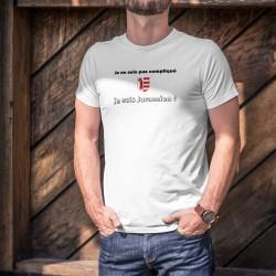 Uomo T-Shirt - Je ne suis pas compliqué, je suis Jurassien ★