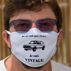 Vintage VW Golf GTI MK1 ★ Cotton mask