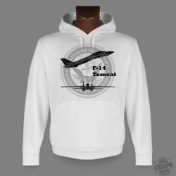 Kapuzen-Sweatshirt - F-14 Tomcat, für Damen und Herren