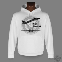 Men's or Women's Hooded Sweat - F-14 Tomcat