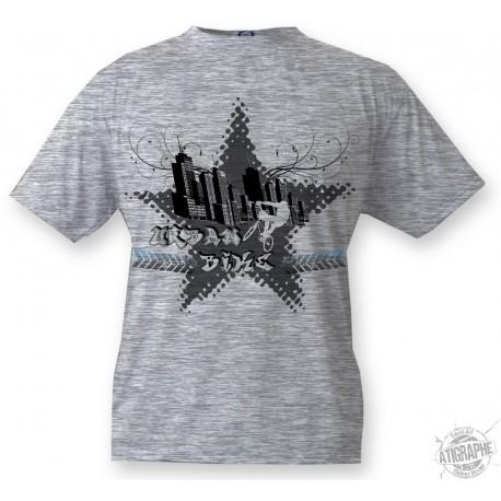 Kinder T-shirt - Urban Bike, Ash heater