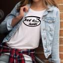 T-shirts humoristiques - Inside - pour dames
