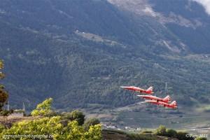 Sion Air show 2011 : La patrouille suisse