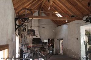 Une des nombreuses salles du musée du fer