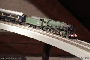 La 141R à vapeur de la SNCF, sur le circuit O