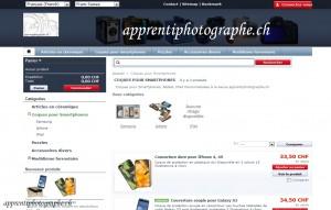 Le shop d'apprentiphotographe.ch