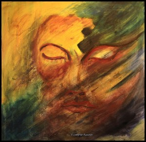 Masque Fragments - Huile 2012