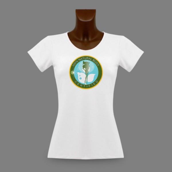 """t-shirt slim et moulant pour femme """"Natural-body"""""""