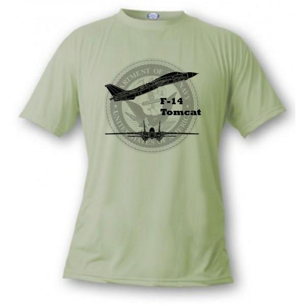 T-shirt aviation de combat - F-14 Tomcat