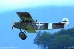Le Fokker D VII - avion de chasse biplan allemand de la Première Guerre mondiale
