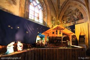 Crèche intérieure de Noël 2015 de la Collégiale St-Laurent - Estavayer-le-Lac